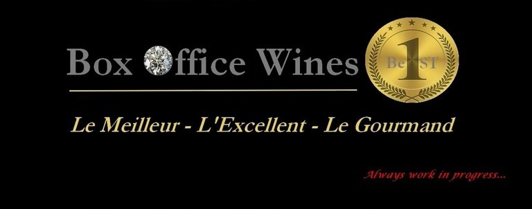 BOX OFFICE WINES LE MEILLEUR L'EXCELLENT LE GOURMAND BEST MARKET PLACE